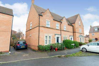 2 Bedrooms Flat for sale in Exmoor Ave, Biggleswade, Bedfordshire, United Kingdom