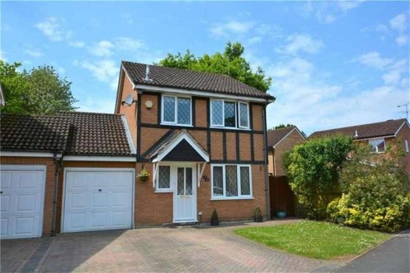 3 Bedrooms Link Detached House for sale in Waverley Way, Wokingham, RG40 4YD