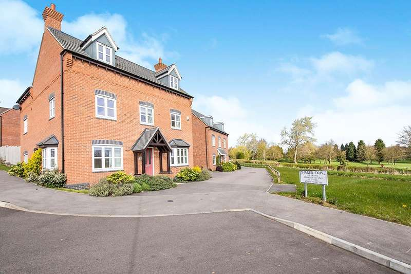 5 Bedrooms Detached House for sale in Helsinki Drive, Hinckley, Leicestershire, LE10