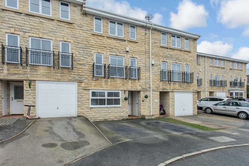 4 Bedrooms Town House for sale in Windermere Rise, Brighouse, West Yorkshire, HD6