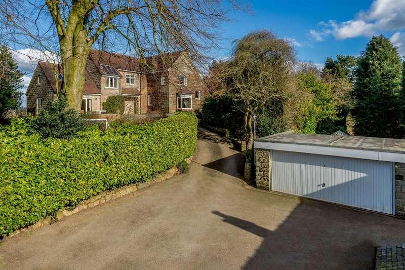 5 Bedrooms Detached House for sale in Farnah Green, Belper, Derbyshire