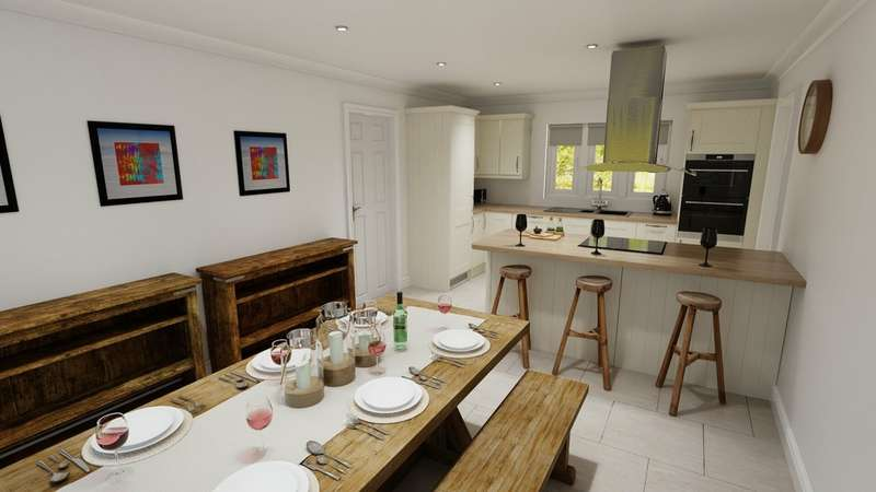 4 Bedrooms Detached House for sale in Moorland View, Carnmenellis