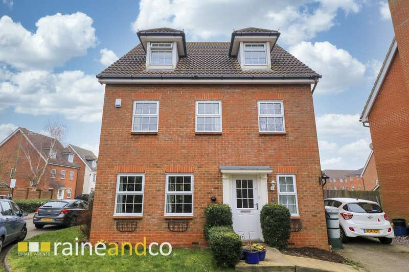 5 Bedrooms Detached House for sale in Flamingo Close, Hatfield, AL10