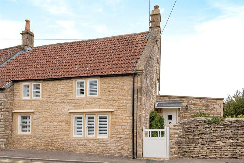 2 Bedrooms Semi Detached House for sale in High Street, Colerne, Chippenham, Wiltshire, SN14