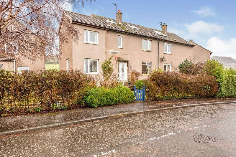 3 Bedrooms Semi Detached House for sale in Cullaloe Crescent, Aberdour, Fife, KY3