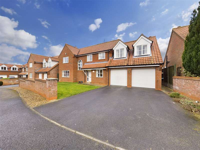 4 Bedrooms House for sale in Holme Close, Thorpe-on-the-Hill, Lincoln, LN6