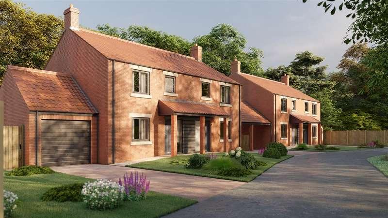 3 Bedrooms Semi Detached House for sale in Plot 4, Chapel Yard, Brawby, Malton YO17 6PY