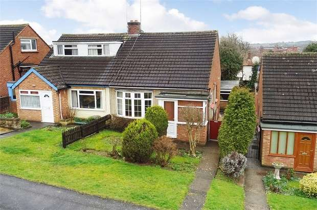 3 Bedrooms Semi Detached Bungalow for sale in Hammond Way, Market Harborough, Leicestershire
