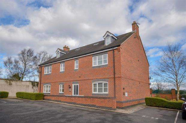 2 Bedrooms Apartment Flat for sale in Melton Road, Barrow upon Soar, Loughborough