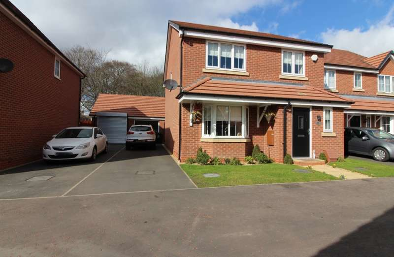 4 Bedrooms Detached House for sale in New Croft Drive, Willenhall