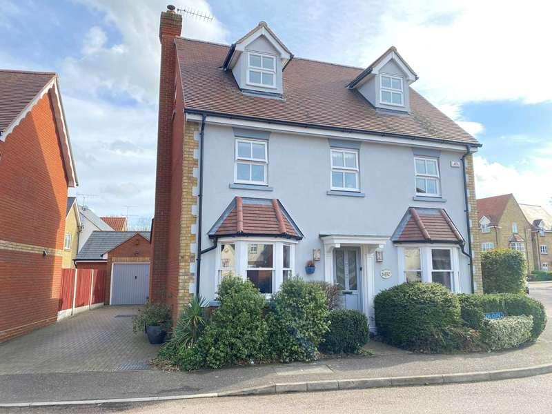 5 Bedrooms Detached House for sale in Hazel Close, Noak Bridge