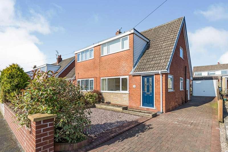 3 Bedrooms Semi Detached House for sale in Chestnut Avenue, Euxton, Chorley, Lancashire, PR7