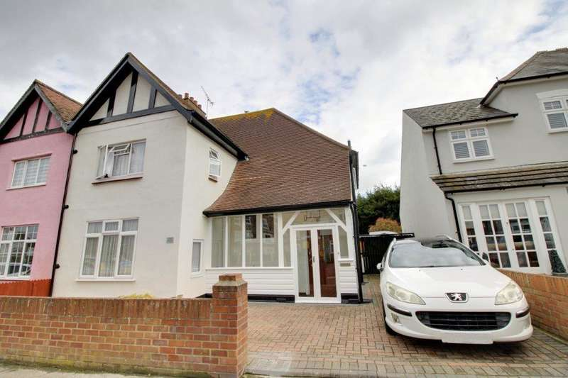 3 Bedrooms Semi Detached House for sale in Eastwood Boulevard, Westcliff, Essex, SS0 9XL