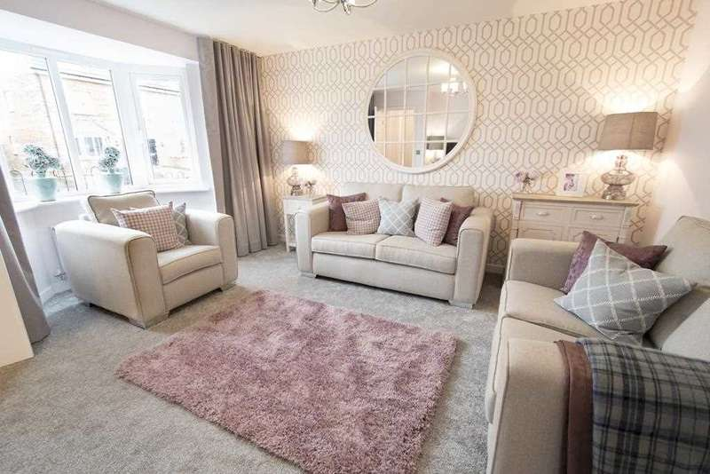 3 Bedrooms Semi Detached House for sale in The Buchanan, Ravenscraig, Plot 77, The Castings, Meadowhead Road, Ravenscraig, Wishaw