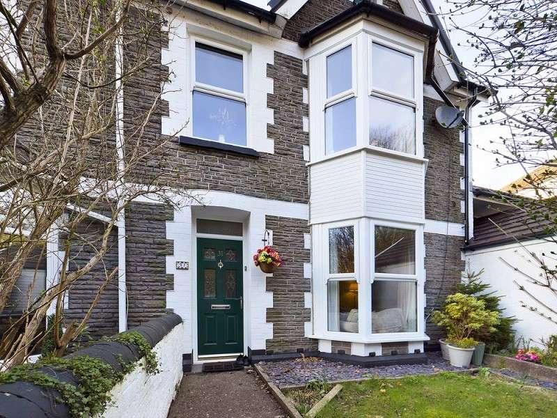 3 Bedrooms Semi Detached House for sale in 31 Merthyr Road, Pontypridd, Rhondda, Cynon, Taff. CF37 4DB