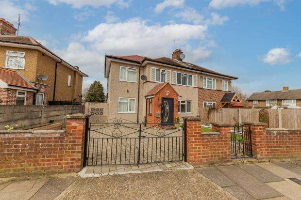 5 Bedrooms Semi Detached House for sale in Kingshill Avenue, Hayes, Middlesex