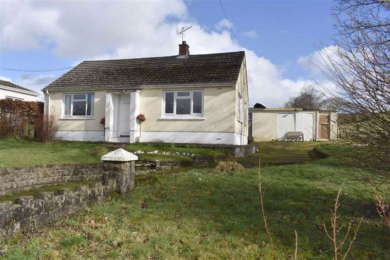 2 Bedrooms Detached Bungalow for sale in Creuddyn Bridge, Lampeter