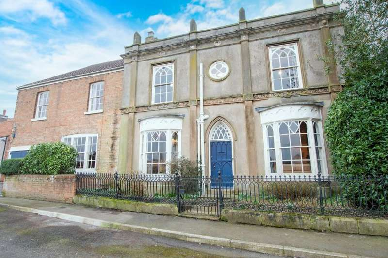 6 Bedrooms Detached House for sale in The Old Vicarage 49 Front Street, East Stockwith, Gainsborough, Lincolnshire