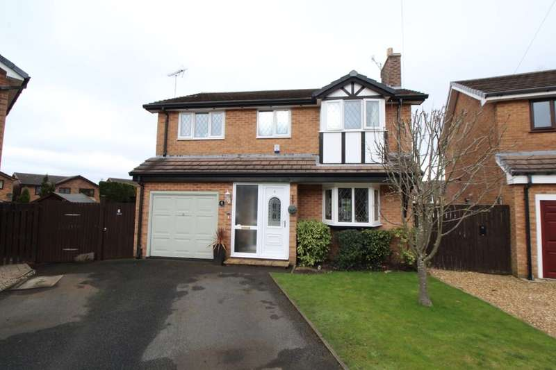 4 Bedrooms Detached House for sale in Ashwood, Glossop, SK13