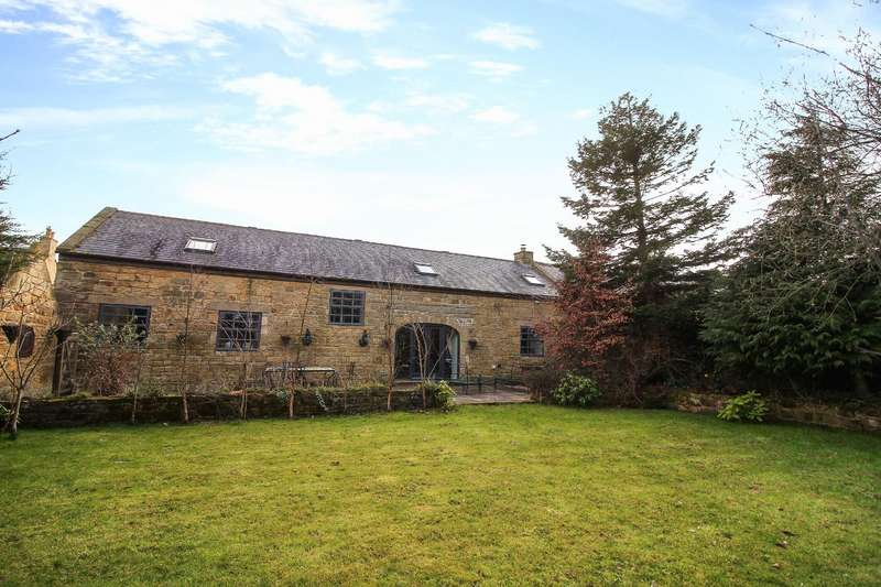 3 Bedrooms Barn Conversion Character Property for sale in Longhirst, Morpeth