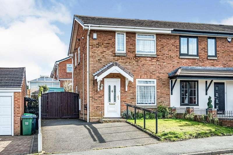 2 Bedrooms Semi Detached House for sale in Majestic Way, Rowley Regis, West Midlands, B65
