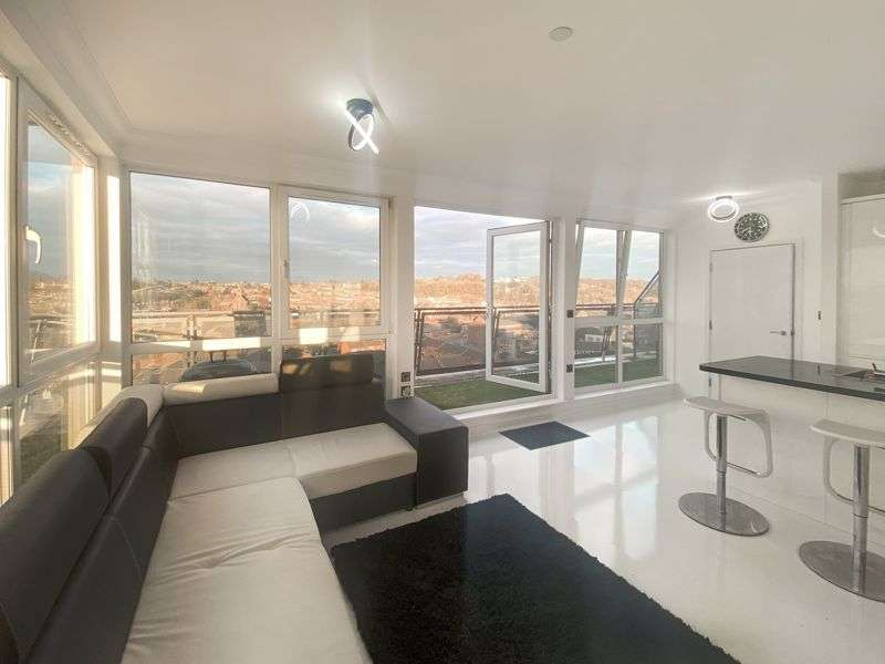3 Bedrooms Property for sale in Penthouse Flat, Hatton Place,Midland Road, Luton
