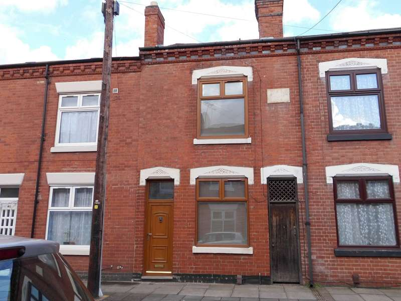 2 Bedrooms Terraced House for sale in Marjorie Street, Leicester, LE4