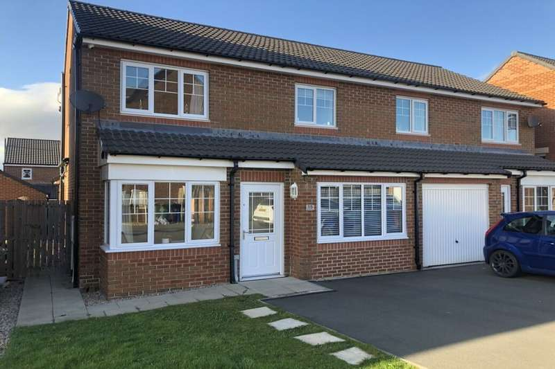 3 Bedrooms Semi Detached House for sale in Providence Drive, Guisborough, TS14
