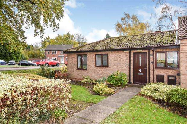 2 Bedrooms Bungalow for sale in Delisle Court, Loughborough, Leicester