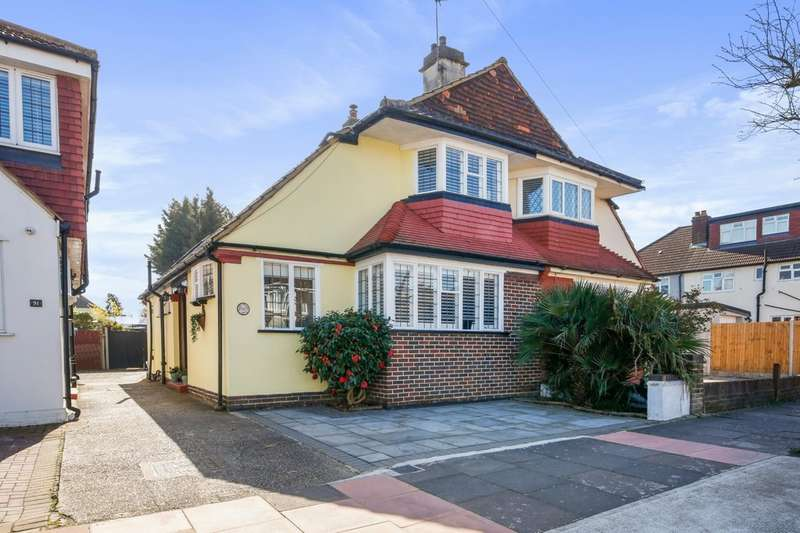 3 Bedrooms Detached House for sale in Crombie Road, Sidcup, DA15 8AT