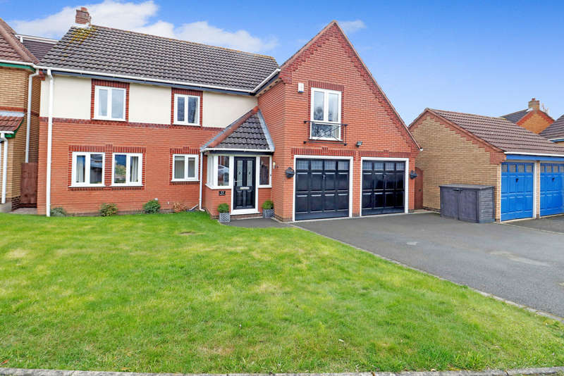 5 Bedrooms Detached House for sale in Rydal Gardens, Ashby-de-la-Zouch