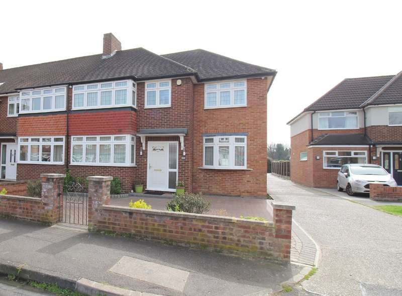 4 Bedrooms End Of Terrace House for sale in Harvest Road, Lower Feltham