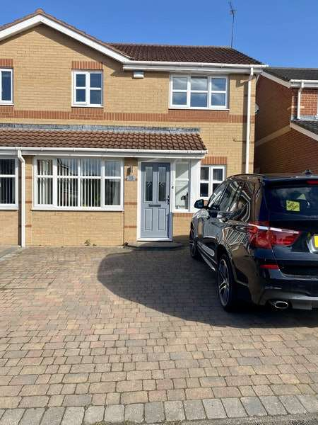 3 Bedrooms Semi Detached House for sale in Greenfield Drive, Choppington, Northumberland, NE62