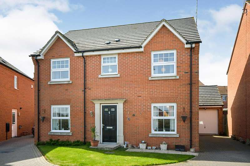 4 Bedrooms Detached House for sale in Poppy Road, Witham St. Hughs, Lincoln, Lincolnshire, LN6