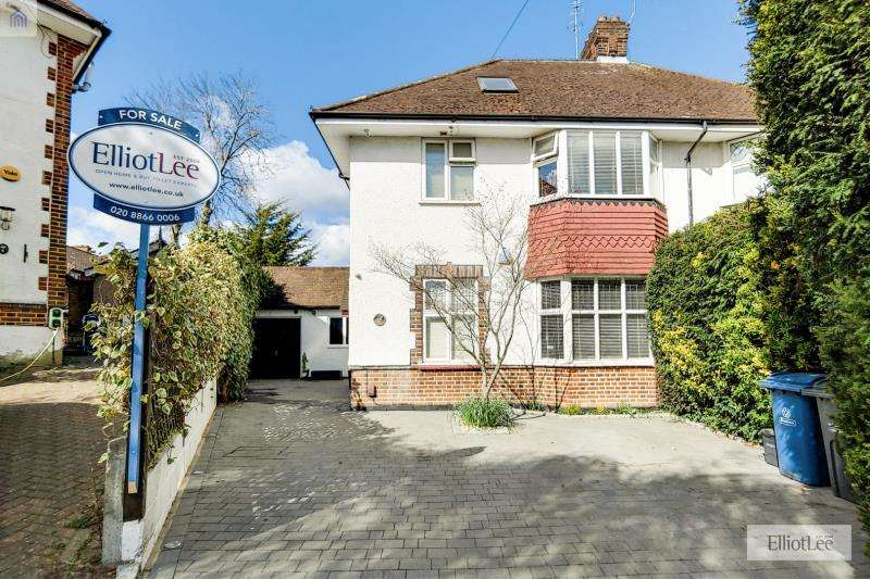 5 Bedrooms Semi Detached House for sale in Moorcroft Way, Pinner, Middlesex