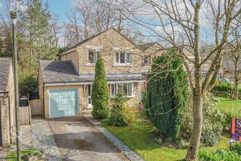 4 Bedrooms Detached House for sale in Wood Gardens, Hayfield, High Peak, Derbyshire, SK22 2HQ