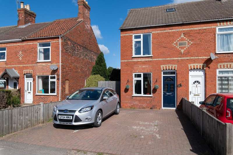 4 Bedrooms Semi Detached House for sale in Wyberton West Road, Boston