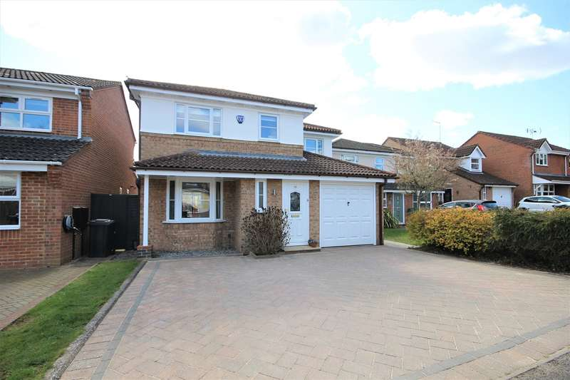 4 Bedrooms Detached House for sale in Rushbrook Close, Ampthill, Bedfordshire, MK45