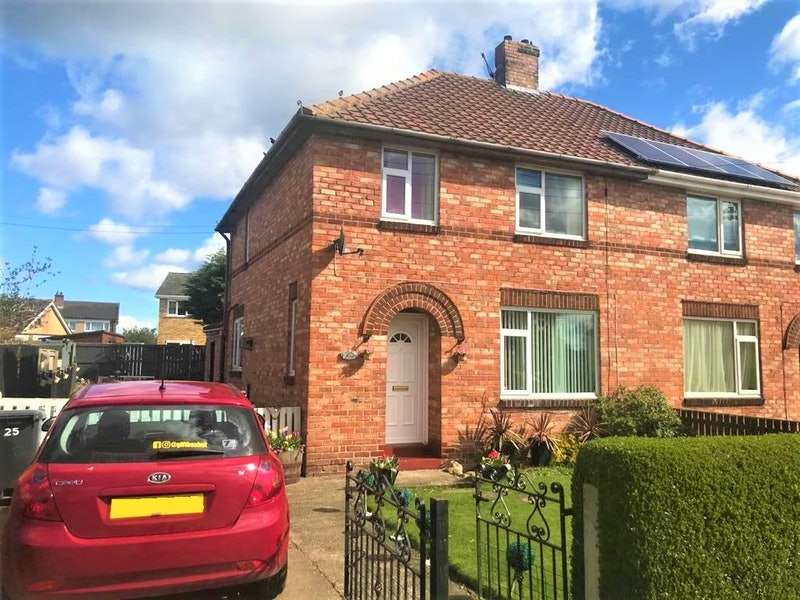 3 Bedrooms Semi Detached House for sale in Mowbray Road, Richmond, North Yorkshire, DL10