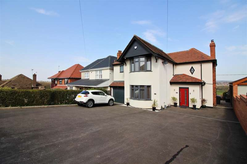 4 Bedrooms Detached House for sale in Hassock Lane South, Shipley, Heanor