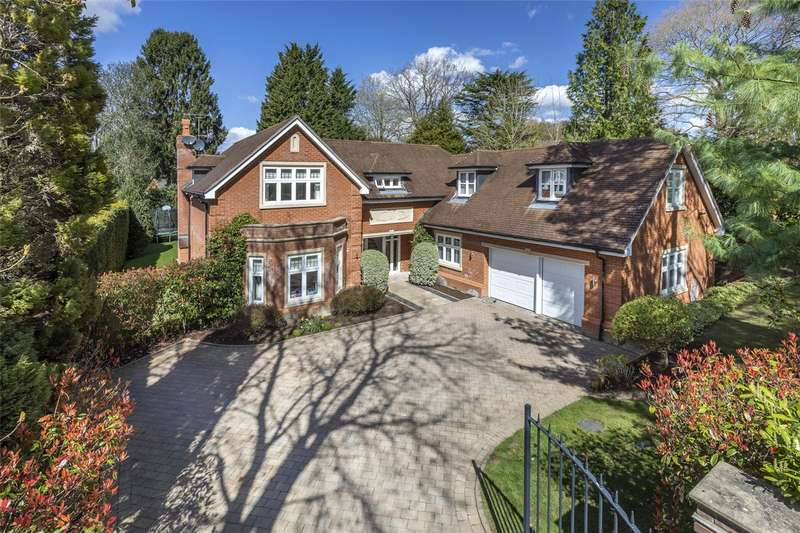 5 Bedrooms Detached House for sale in Gorse Hill Lane, Wentworth Estate, Virginia Water, Surrey, GU25