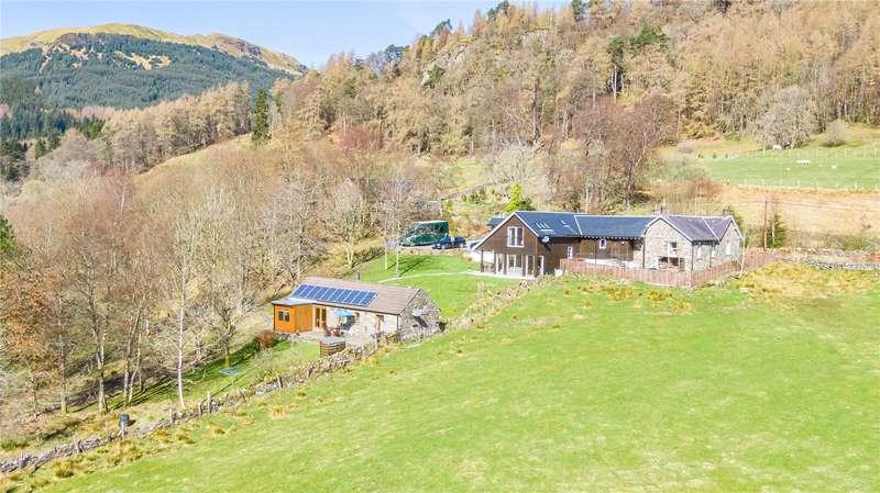 4 Bedrooms Detached House for sale in Broomfield, Balquhidder, Lochearnhead, FK19