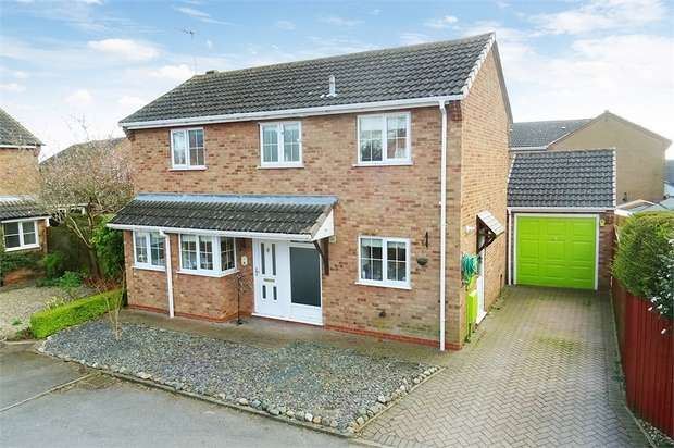 3 Bedrooms Detached House for sale in Long Grey, Fleckney, Leicester