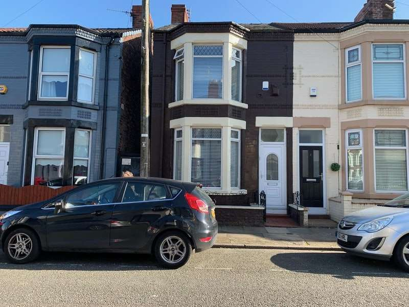 3 Bedrooms End Of Terrace House for sale in Bellamy Road, Liverpool, Merseyside, L4