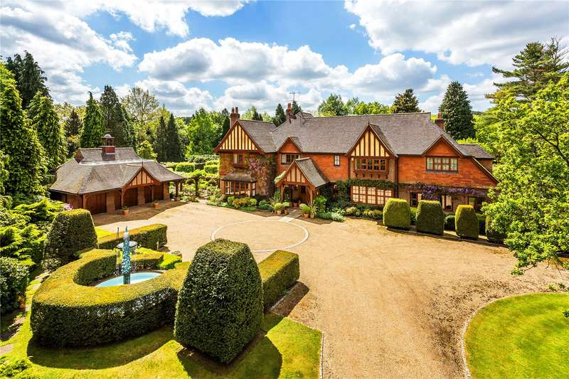6 Bedrooms Detached House for sale in The Drive, Wonersh, Guildford, Surrey, GU5