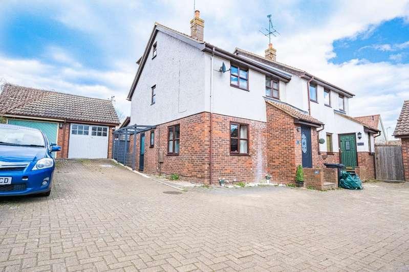 4 Bedrooms Semi Detached House for sale in Godfrey Way, Dunmow