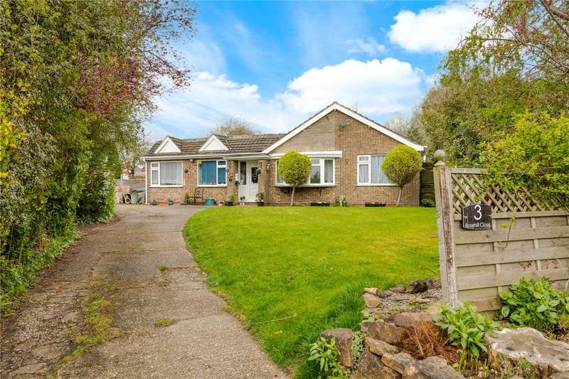 4 Bedrooms Detached Bungalow for sale in Rosehill Close, Saxilby, Lincoln, LN1