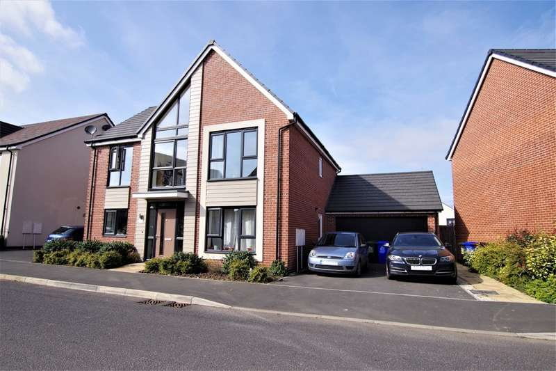 4 Bedrooms Detached House for sale in Ivinson Way, Bramshall Meadows, Uttoxeter