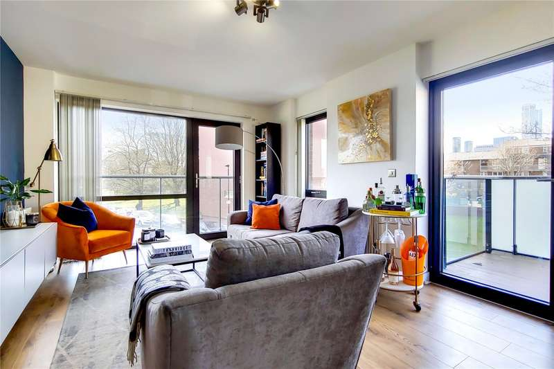 2 Bedrooms Apartment Flat for sale in Clubhouse Apartments, 34 Stainsby Road, Poplar, E14