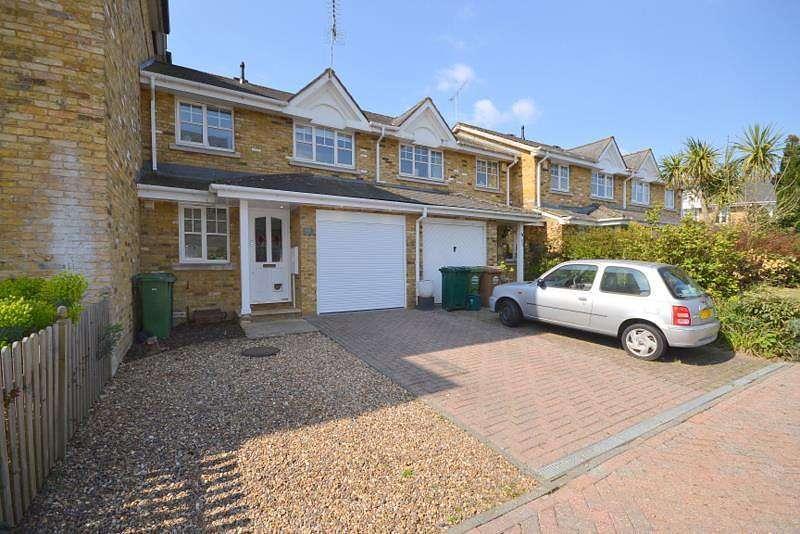 3 Bedrooms Terraced House for sale in Swan Walk, Shepperton, TW17